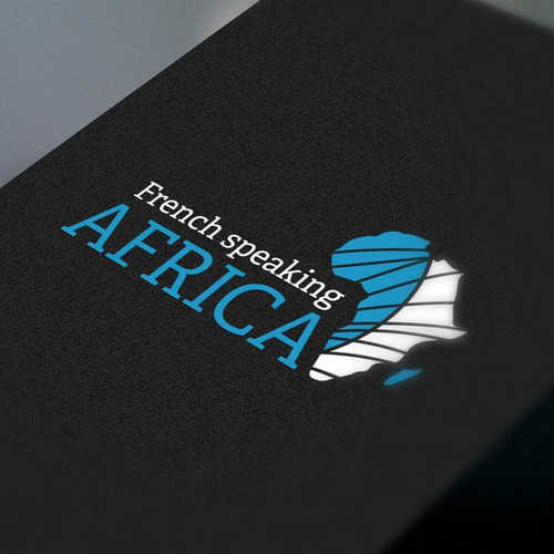 French speaking Africa logotipe