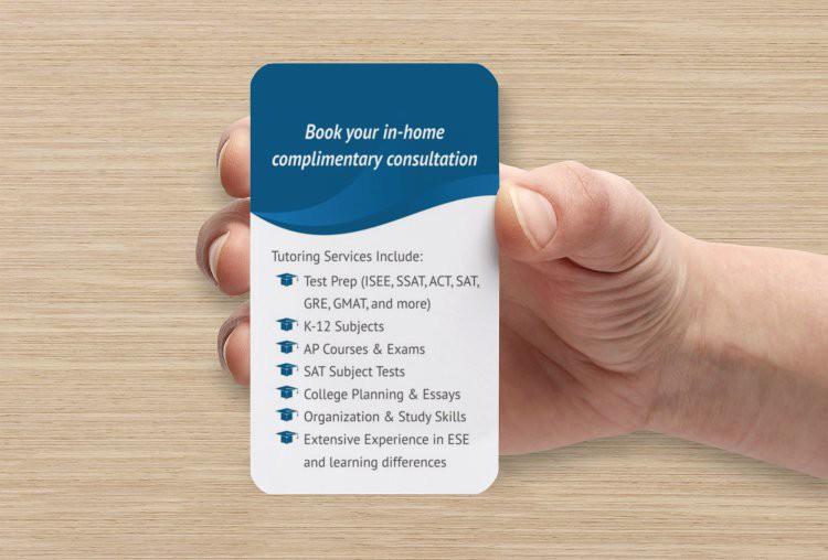 Business Card - tutora