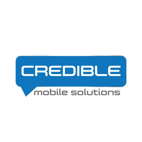 Create a capturing logo for Credible Software - A Mobile Solutions Partner