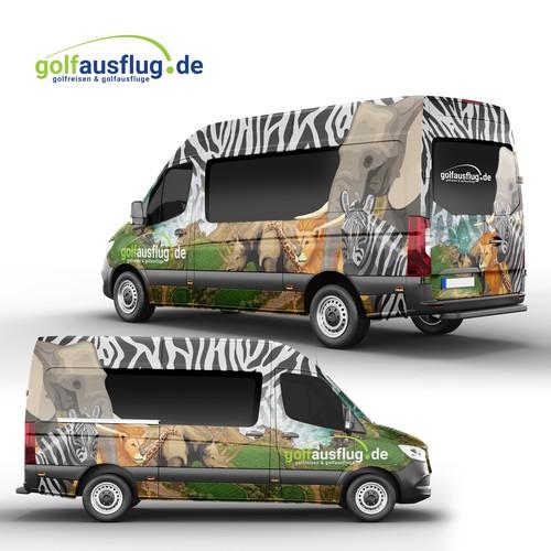 Golfausflug.de Full Wrap Design