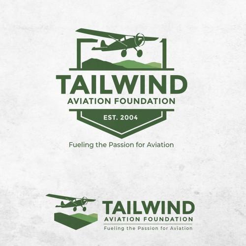 Tailwind aviation foundation logo