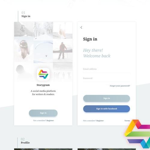 Story app design
