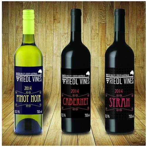 Wine Label from Australia
