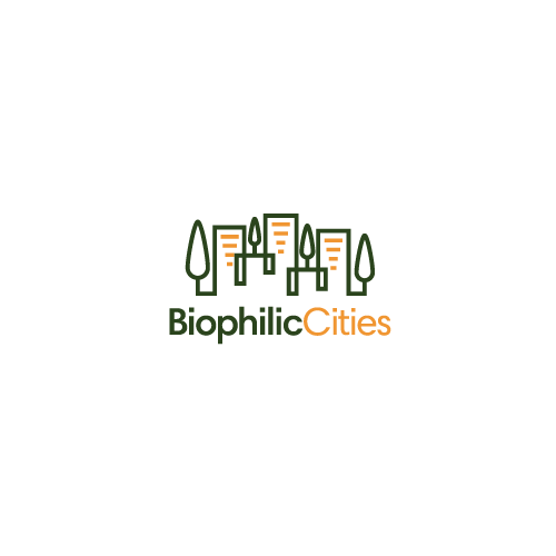 Create a dynamic urban nature logo for Biophilic Cities