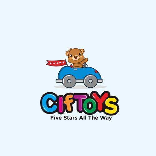 Ciftoys concept design logo