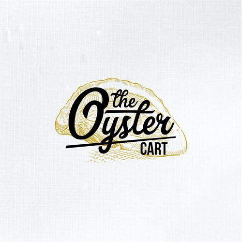 The Oyster Cart Logo Concept