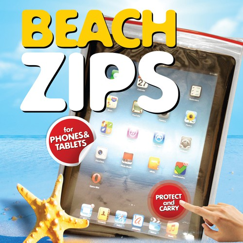 beachzips needs a new product packaging