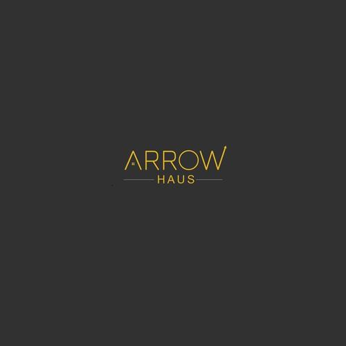 Logo concept for ARROW HAUS