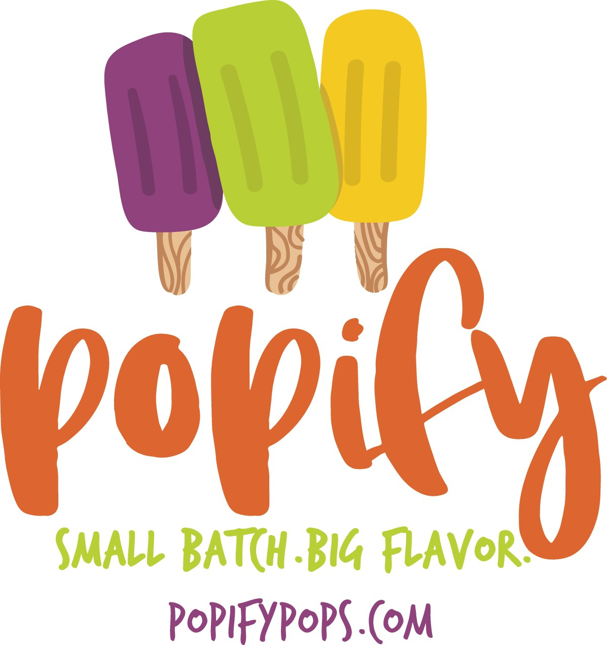 New colors for Popify Logo