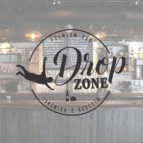 Logo 'Drop Zone'