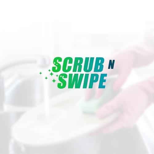Scrub n Swipe logo