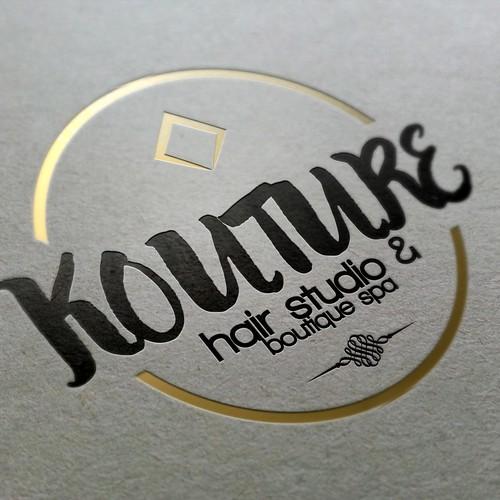 Logo concept for a hair studio