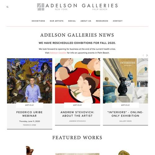 Adelson Galleries Design