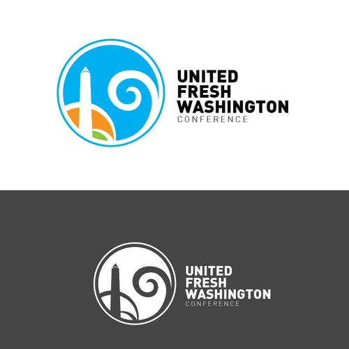 Logo design for United Fresh Washington conference