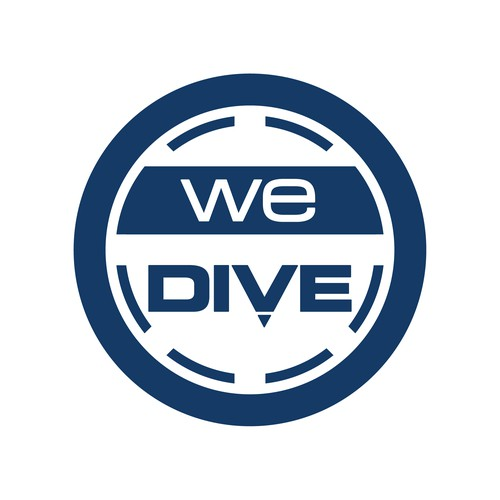 We Dive logo design
