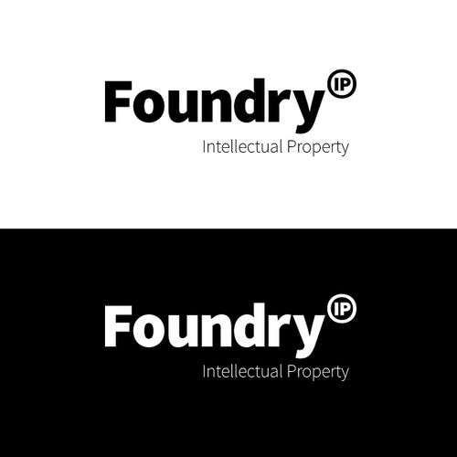 logo and business card for Foundry Intellectual Property