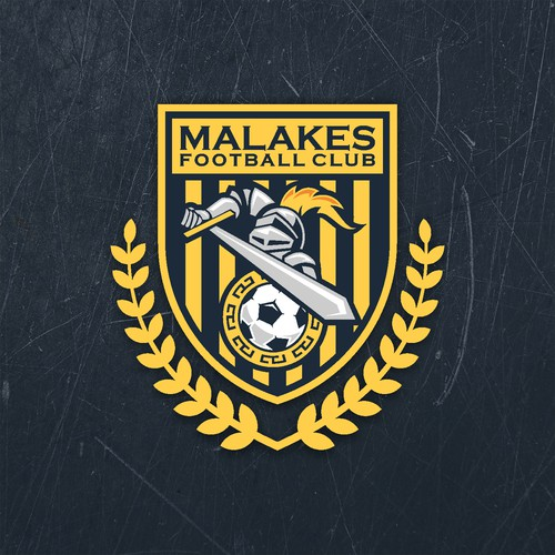 Design Greek Soccer Team Logo for Malakes F.C.