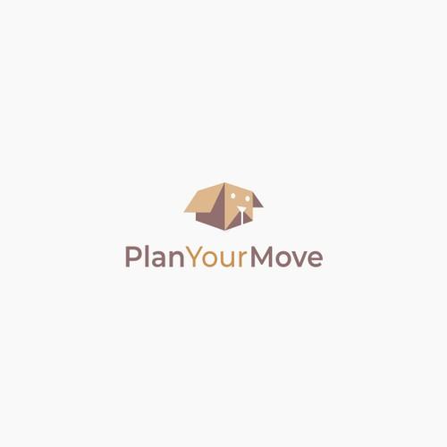 Plan your move logo