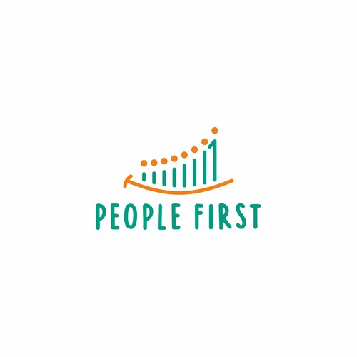 Playful Logo for People First