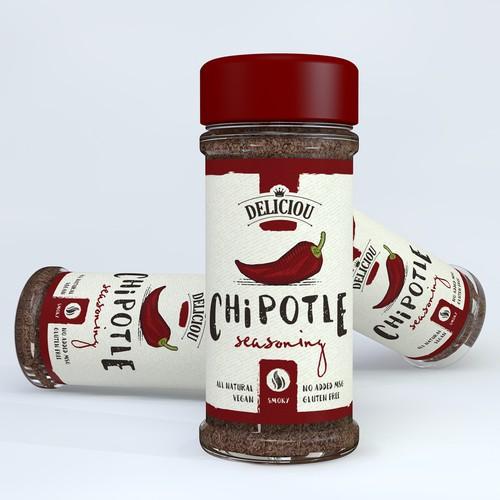 Deliciou Chipotle seasoning