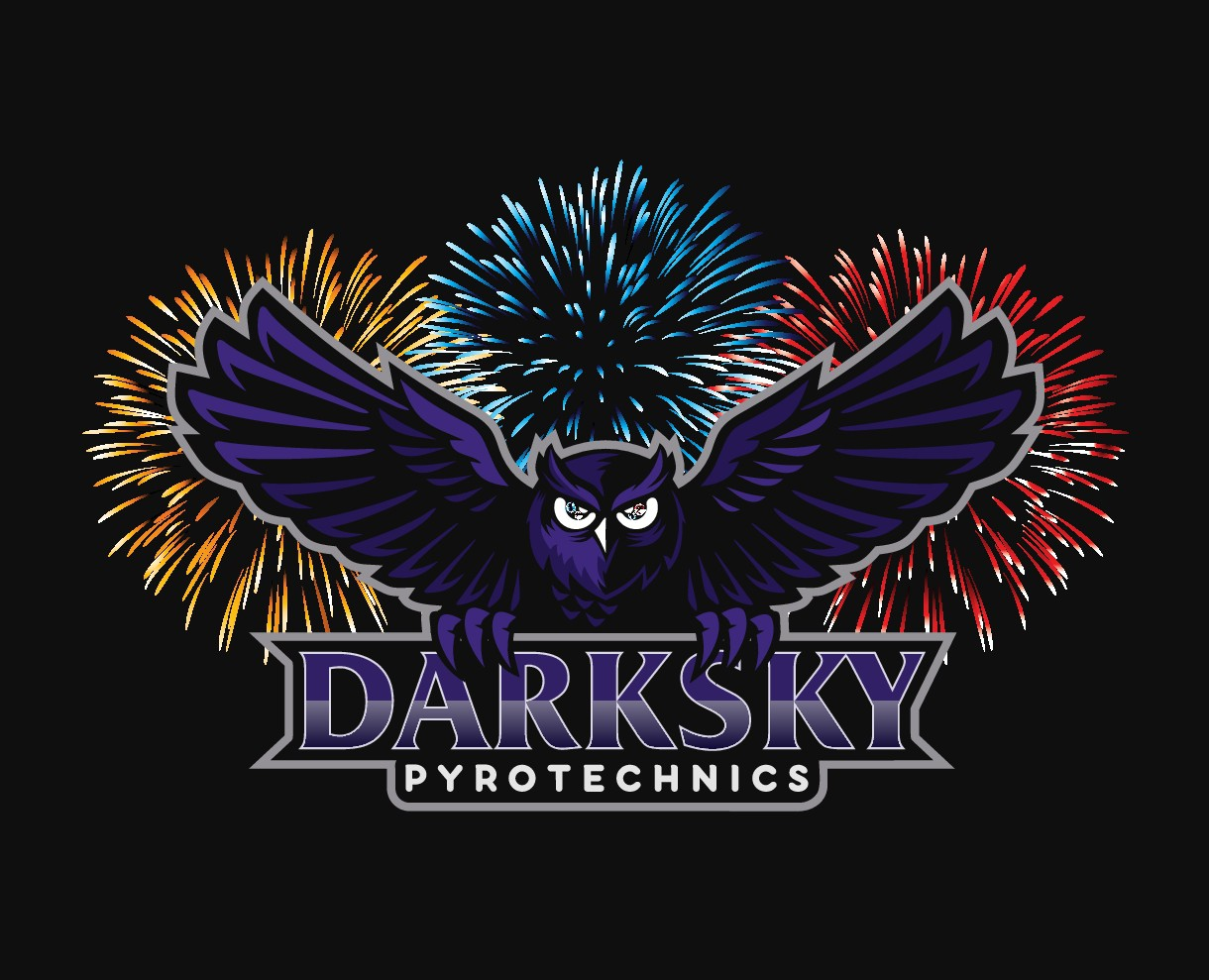 Logo for a Professional Firework Display Company