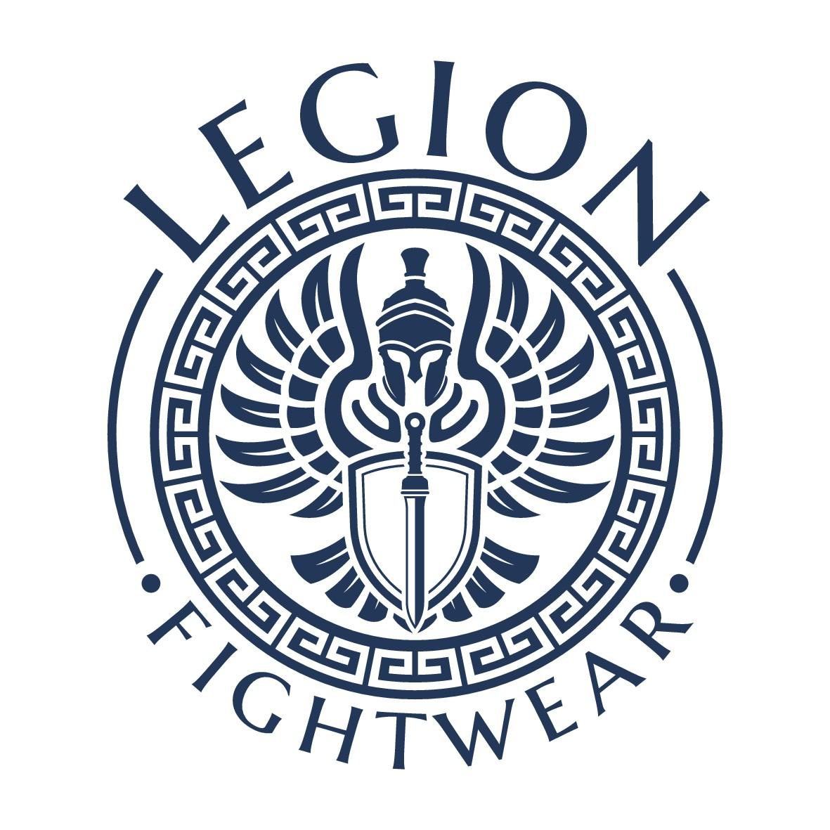 Create a sleek, masculine logo for a combat sports apparel company