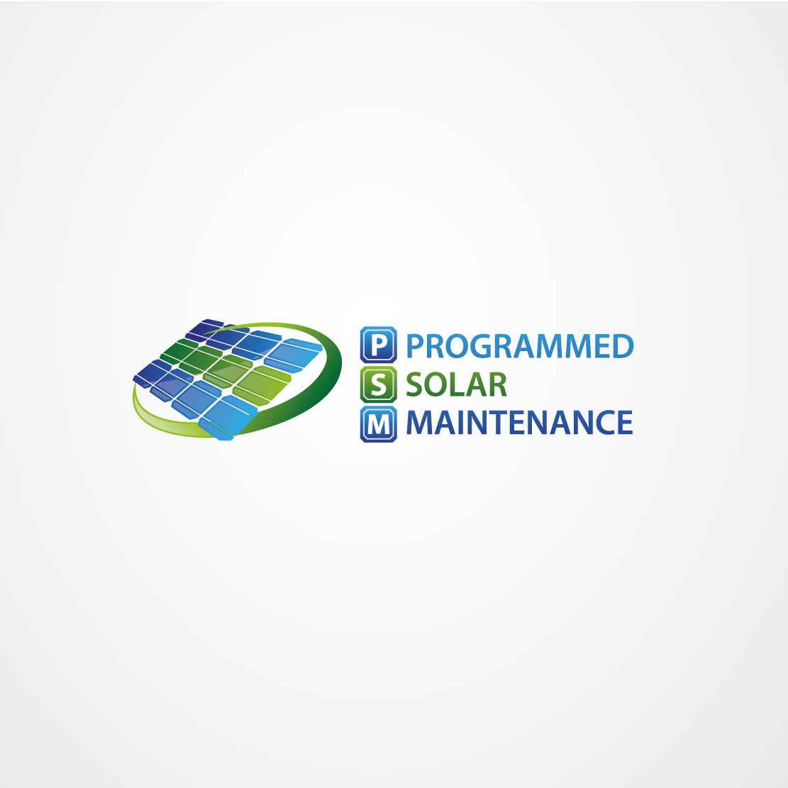 Help PSM - Programmed Solar Maintenance with a new logo
