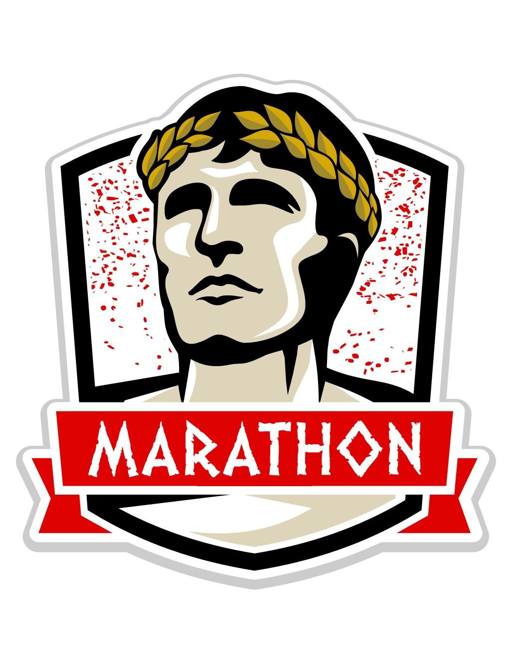 LOGO: MARATHON Runner