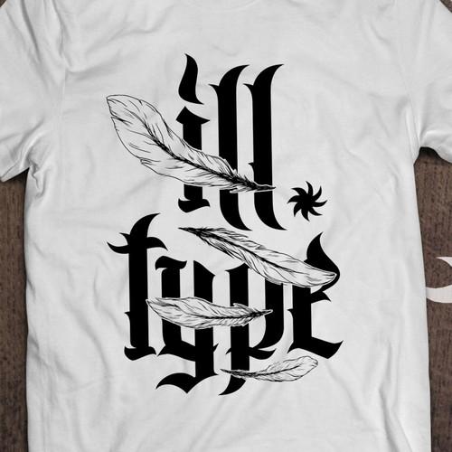 Illustration for Ill Type T-shirt