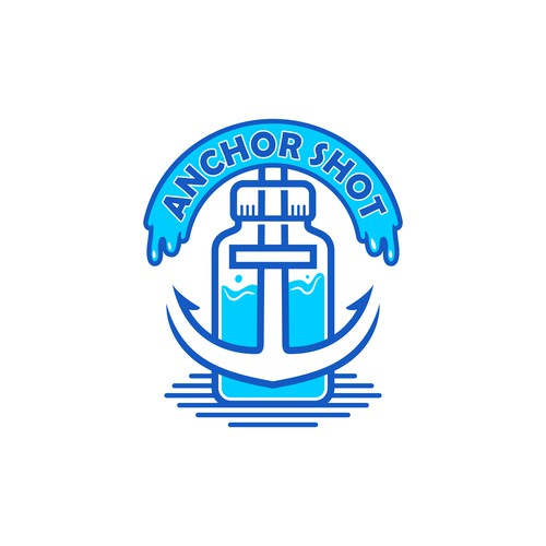 Logo design concept for Anchor Shot