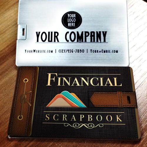 Financial Scrapbook Case Cover Design