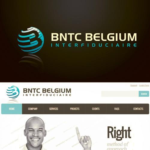 Create the logo for BNTC Belgium Interfiduciaire