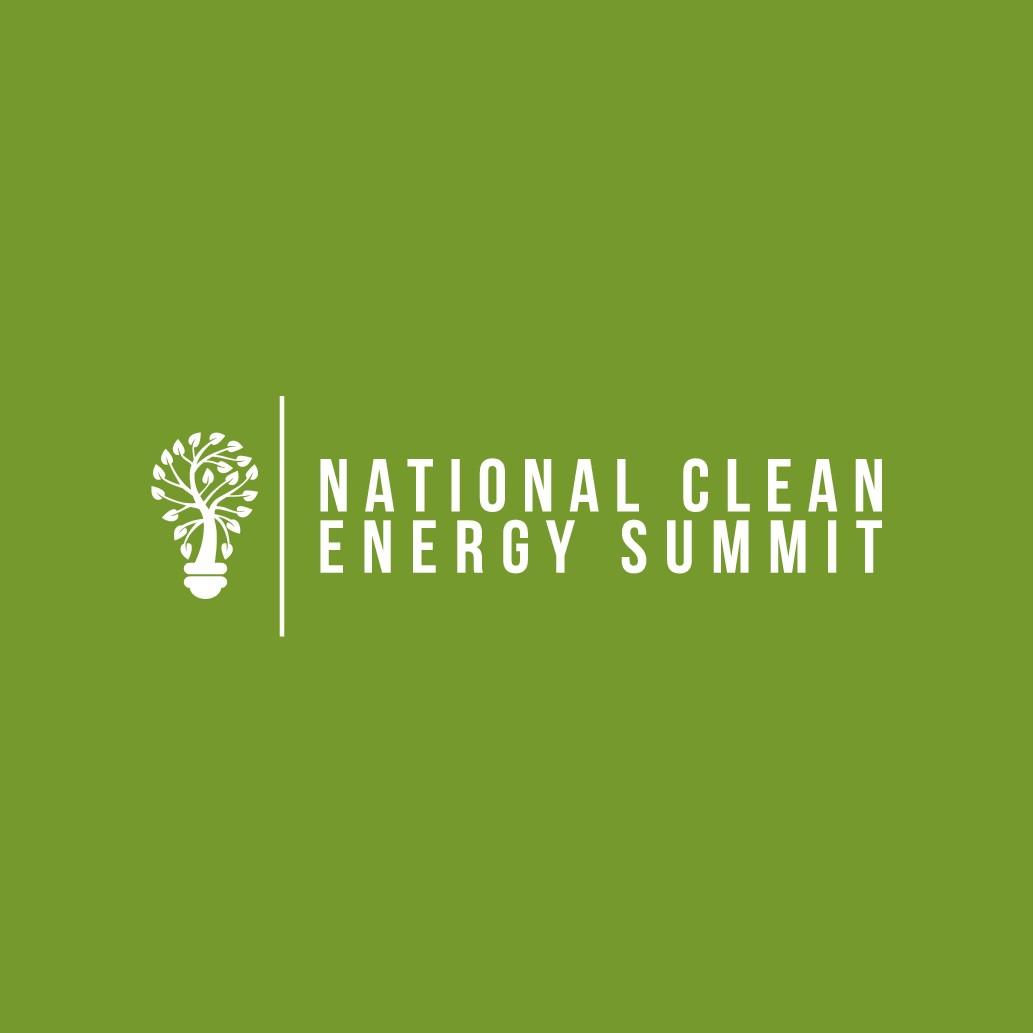 National Clean Energy Summit Logo Design