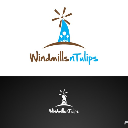 windmillsntulips