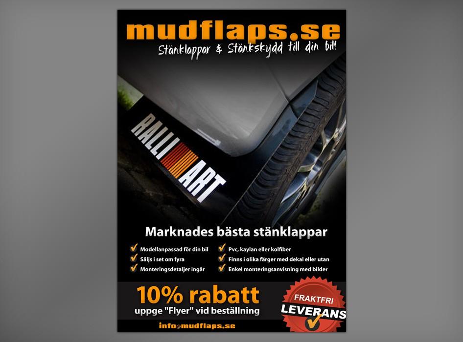 Create the next design for mudflaps.se