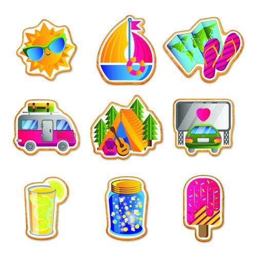 Summer Cookies Design