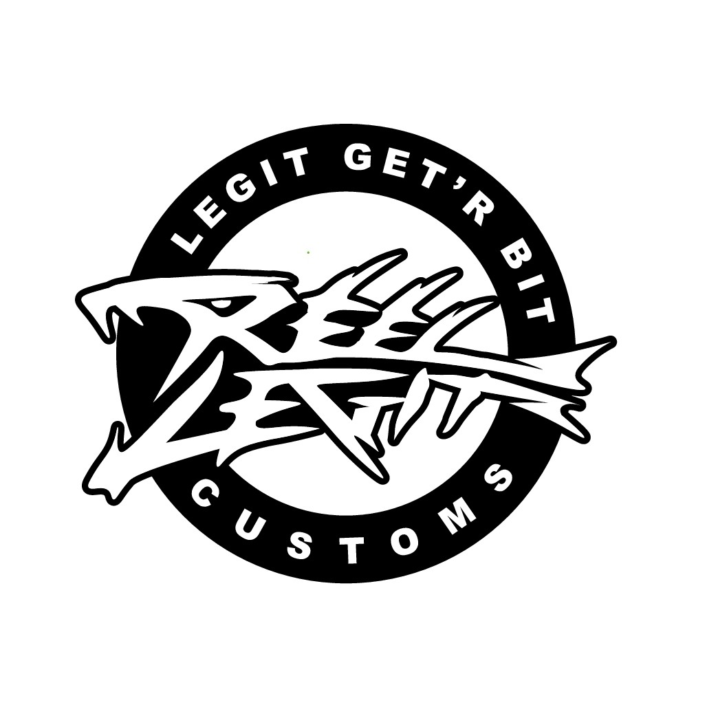 """Custom bait painters looking to """"lure"""" creative spirits for a logo design!"""