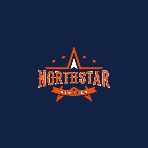 Logo design with college style for Northstar Kitchen.