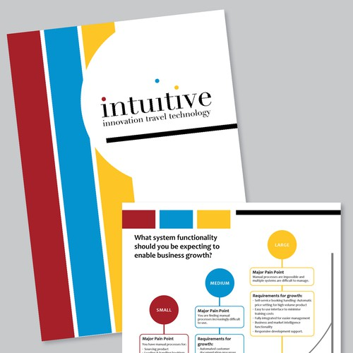Create a whitepaper design for a travel industry technology provider