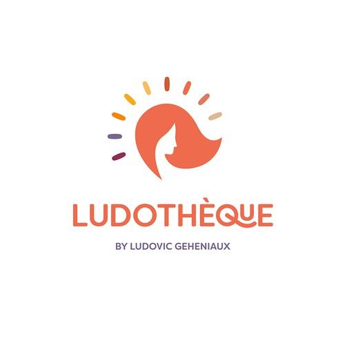Concept de logo pour un coloriste