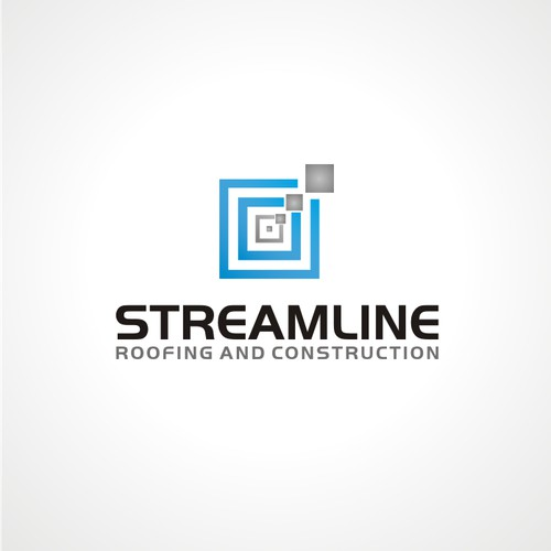 logo for Streamline Roofing and Construction