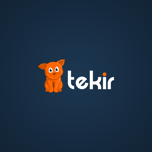 App Logo with a Cat like character