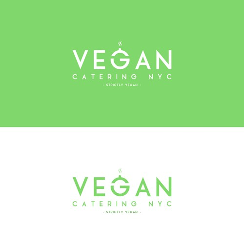 Logo concept for a Vegan Catering company