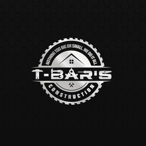 T-BAR'S Contruction logo