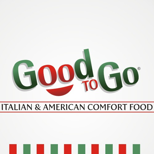 Logo for new sit in & take out Italian/American cafe