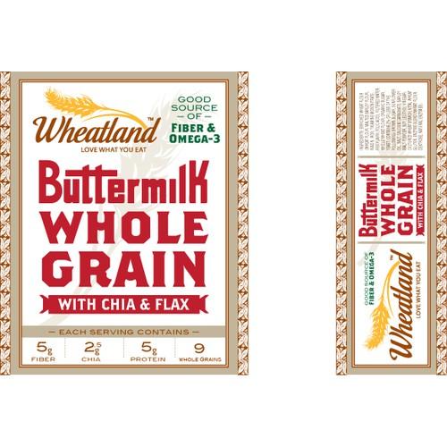 Bread Label Packaging