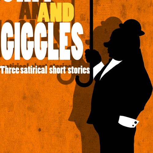 Channel your humorous side into a satirical short story collection cover