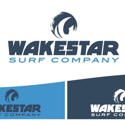 Logo Wakestar Surf Company