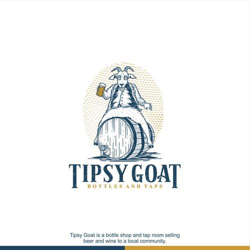 Logo Concept for Tipsy Goat