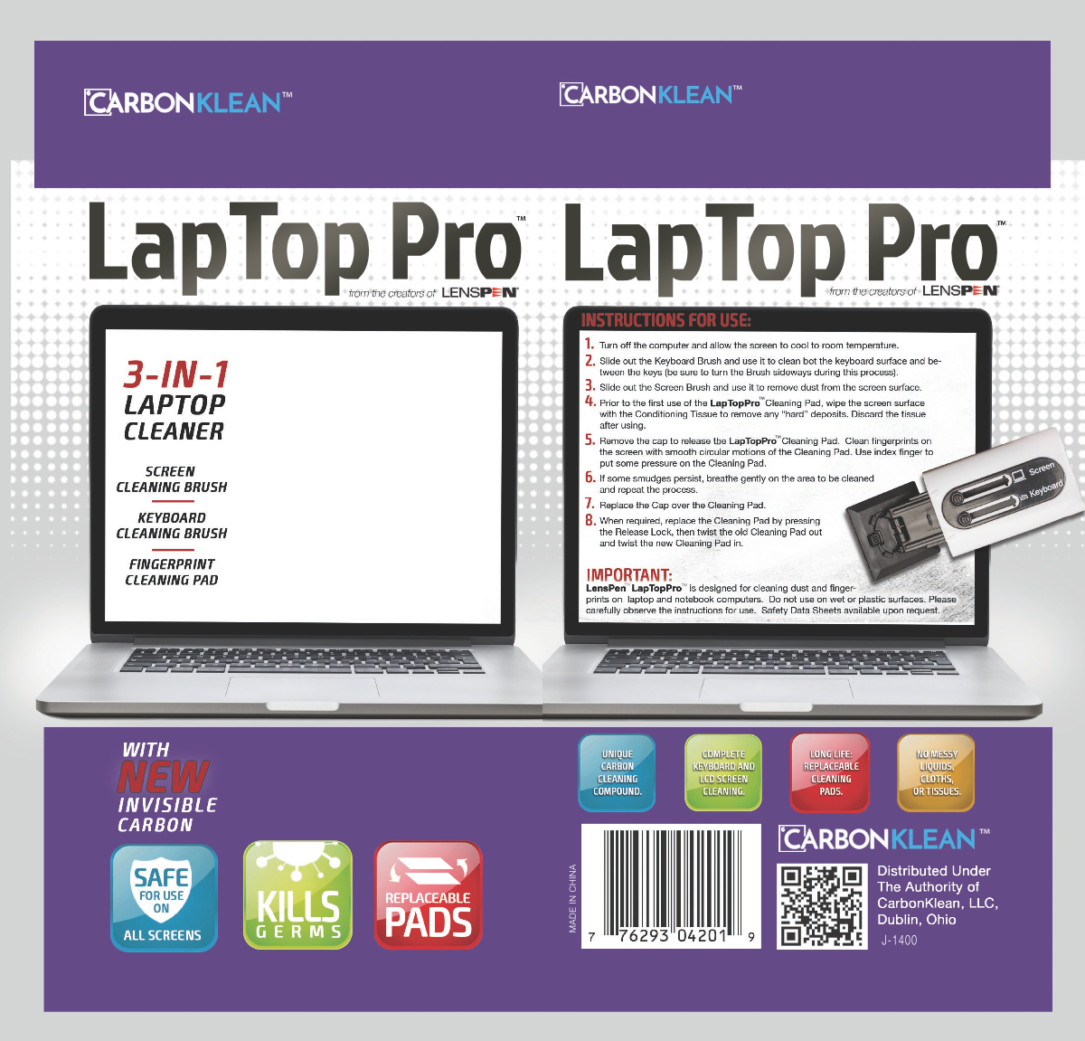 LapTop Pro Packaging Redesign